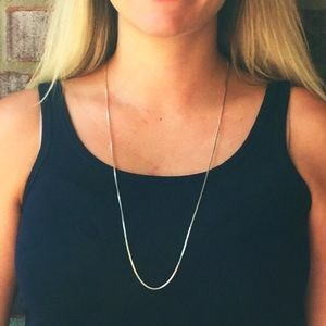 Jewelry - Sterling Silver Box Chain